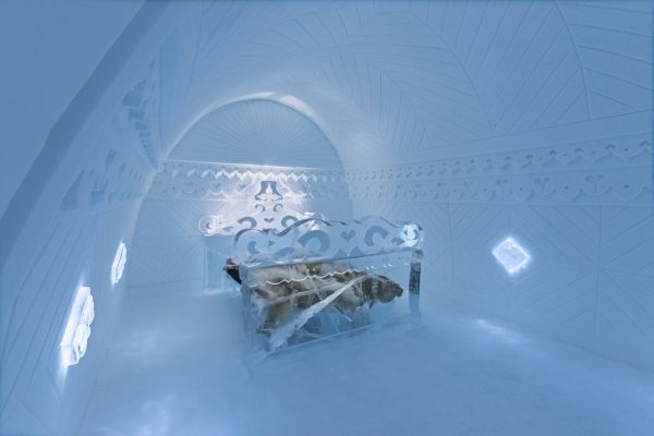 Ice Hotel – amazing suites entirely made of ice and snow